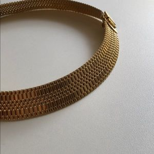 Jewelry - Vintage watchband necklace